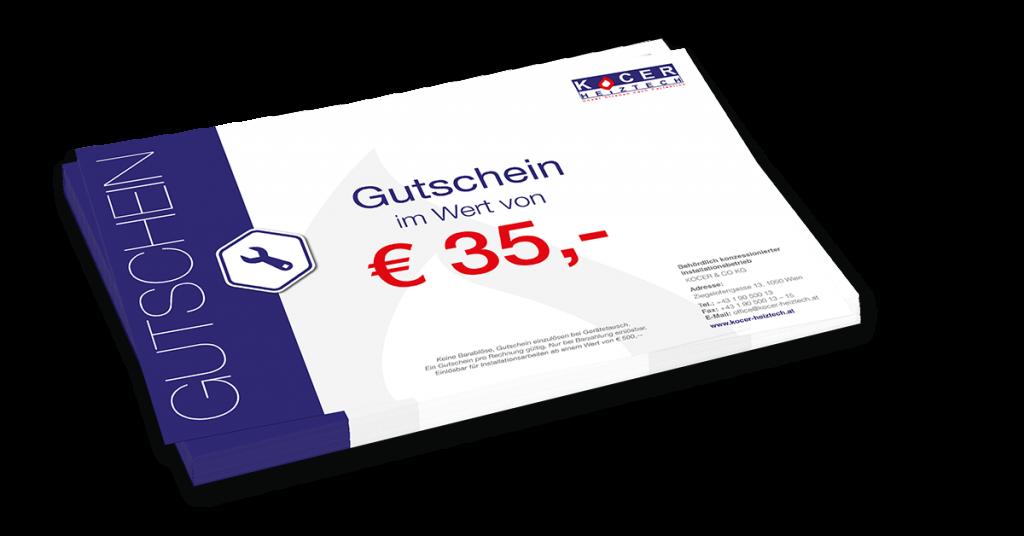 Thermenwartung Gutschein 35€