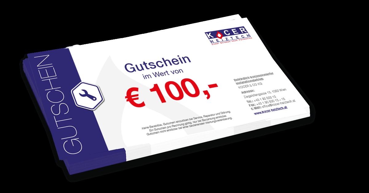 EUR 100,- Gutschein