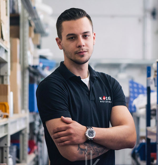 Techniker Stefan Gavran